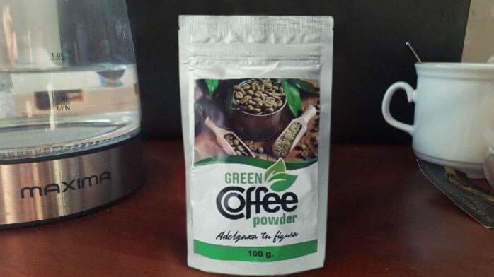 green coffee powder como se toma