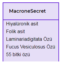 macrone secret satın al