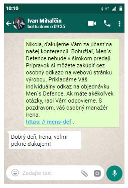 Men's Defence slovensko