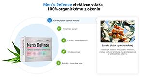 Men's Defence nežiadúce účinky