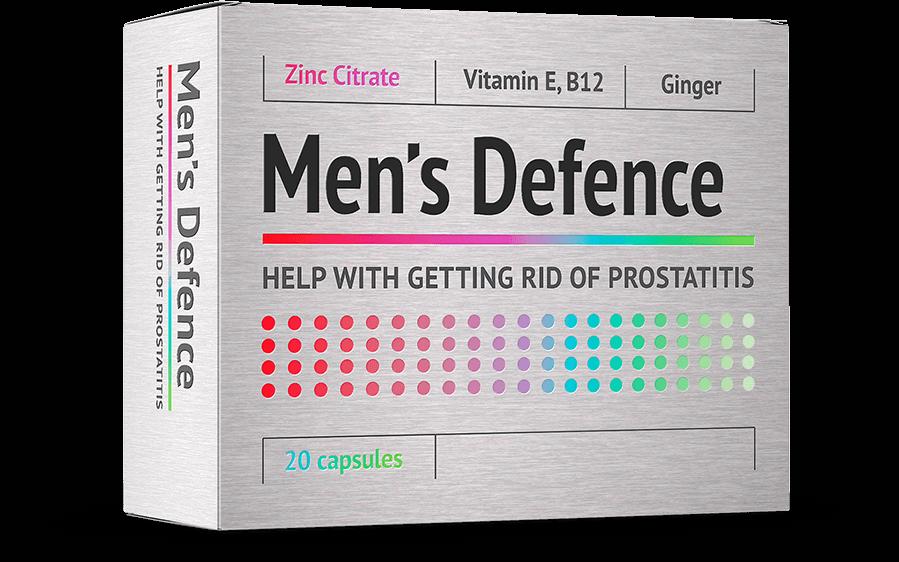 Men's Defence gegen Prostatitis