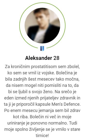 kaj je Men's defence