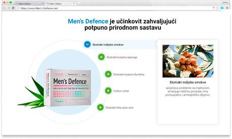 Men's defence hrvatska