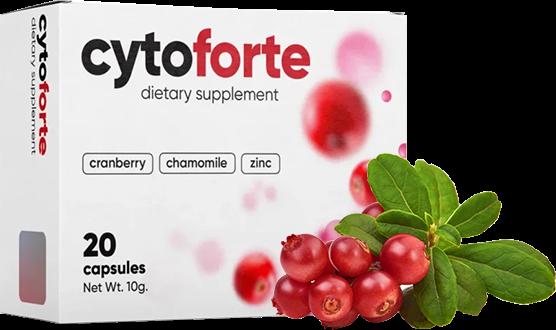 CytoForte kaip naudoti