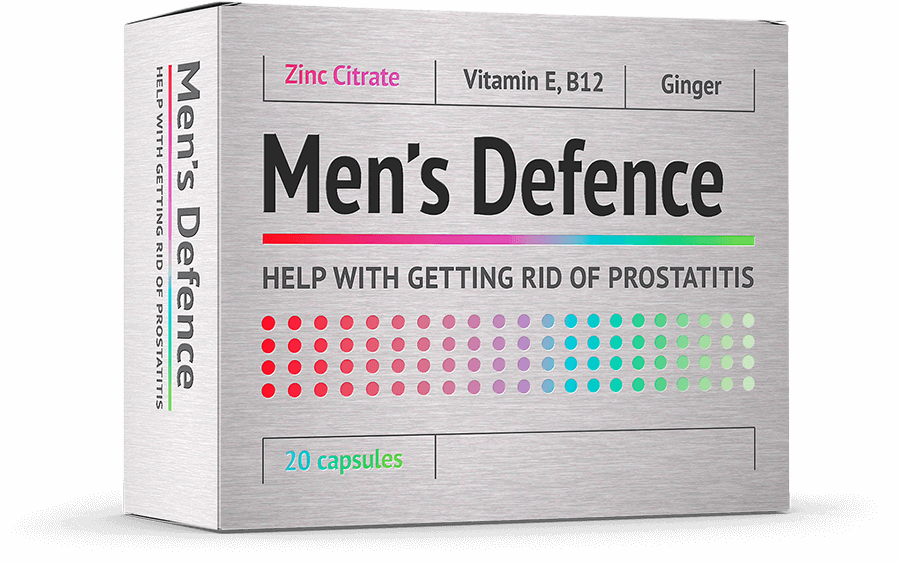 Men's Defence priemonė prostatito gydymui