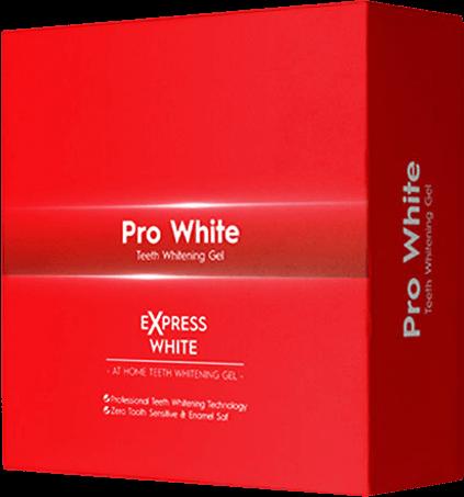 Pro White beyazlatma diş jeli