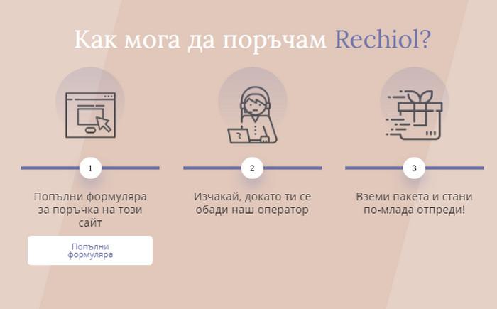 Rechiol България цена, съдържание, коментари - стягащ крем..