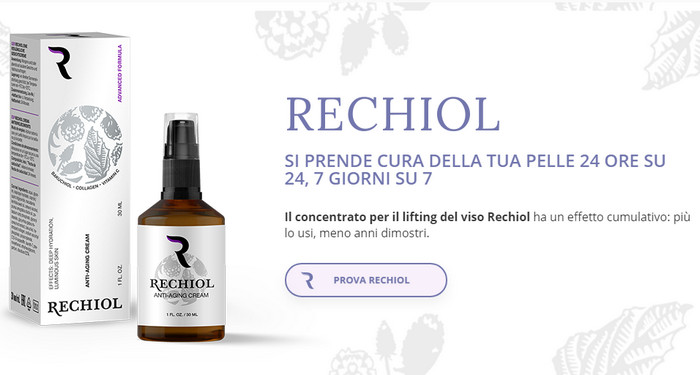 Rechiol Italia prezzo, ingredienti, commenti - la migliore..
