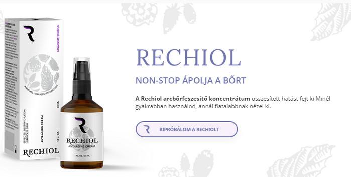Rechiol Magyarország ára, tapasztalatok, használati..