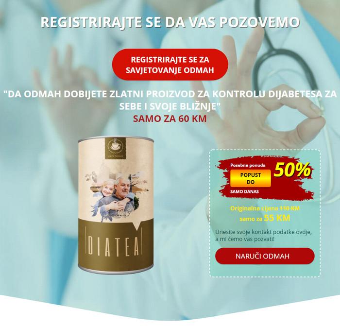 Diatea Bosna i Hercegovina, cijena, kako se koristi..