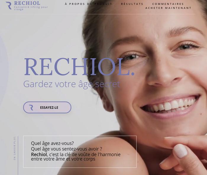 Rechiol France, prix, comment utiliser, avis - meilleure..